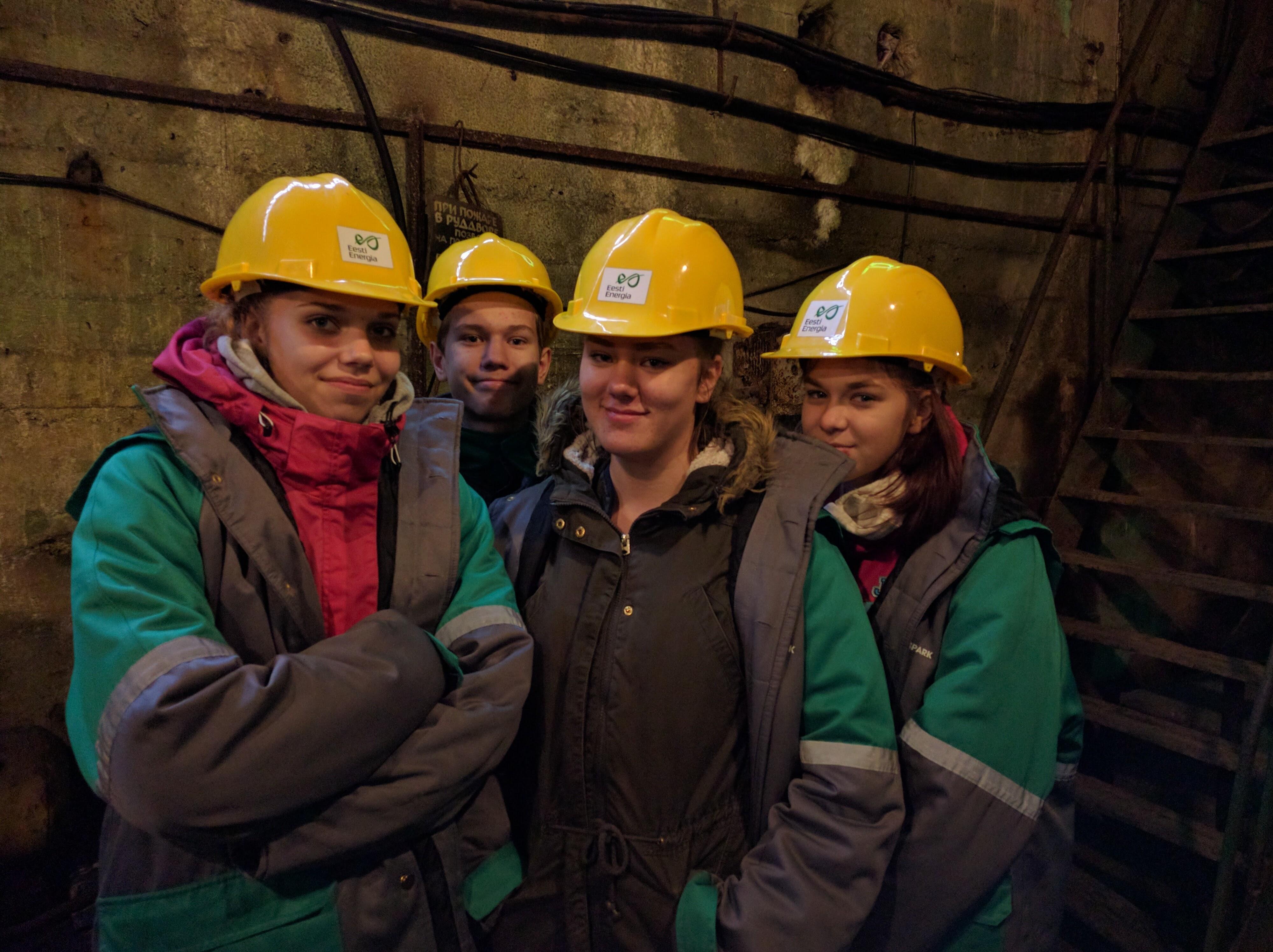 Õppepäev Kohtla kaevanduspargis