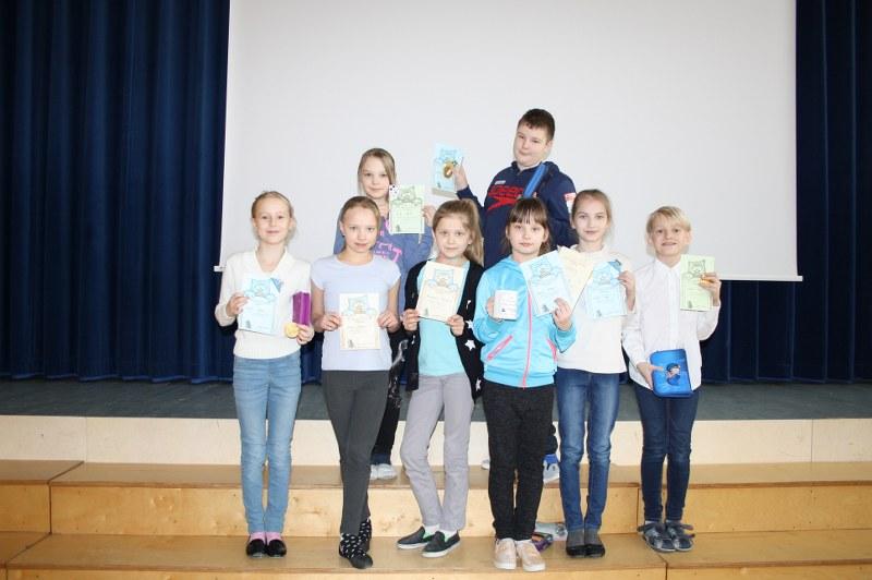 3. klasside inglise keele võistlus Ülenurmes