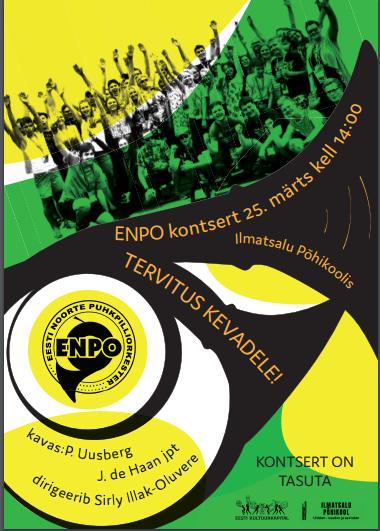 ENPO kontsert 25.märtsil