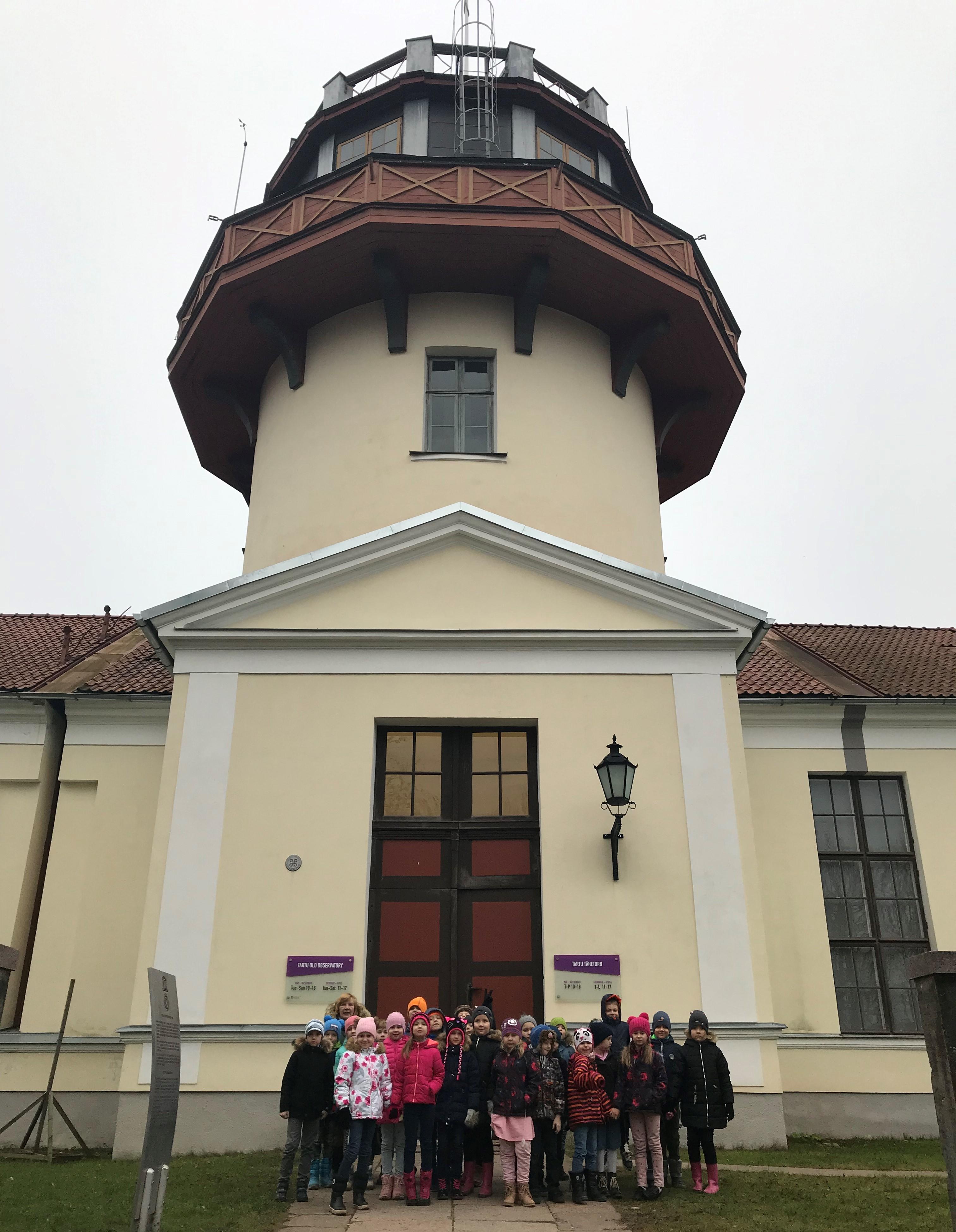 1. klassid Tartu Tähetornis