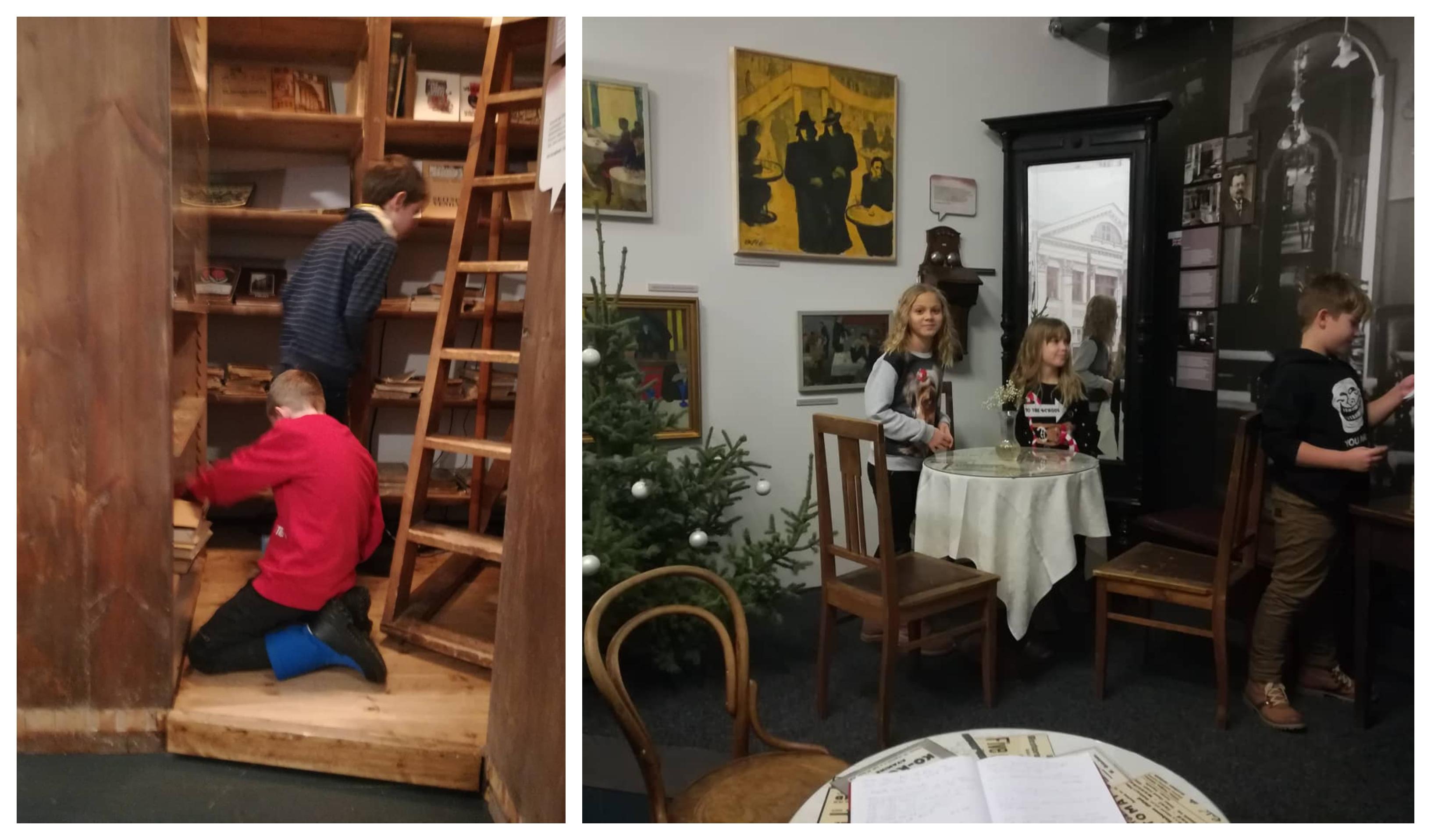 2. a klass käis Tartu Linnamuuseumis