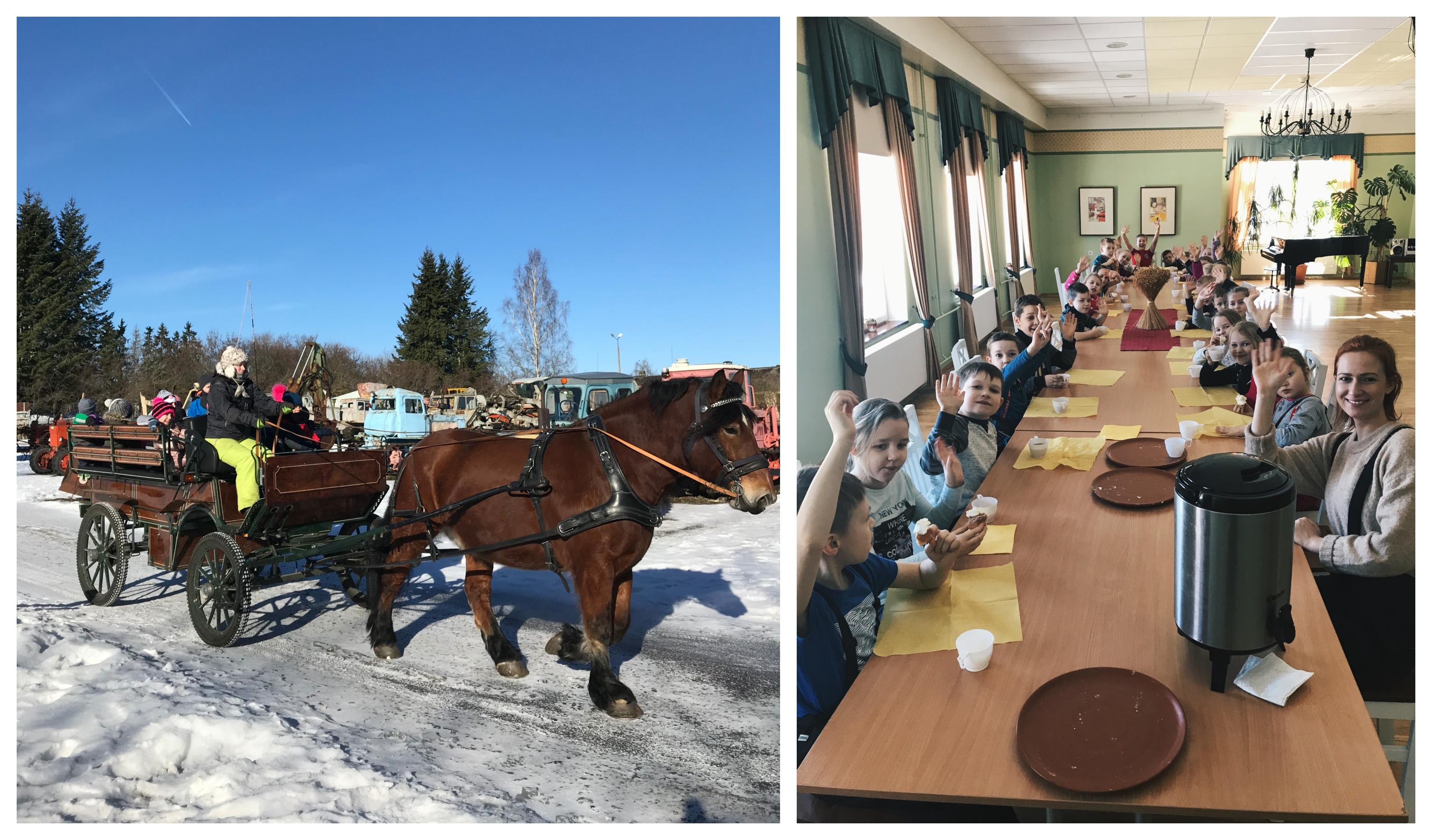 1.G ja 1. L klass Eesti Põllumajandusmuuseumis