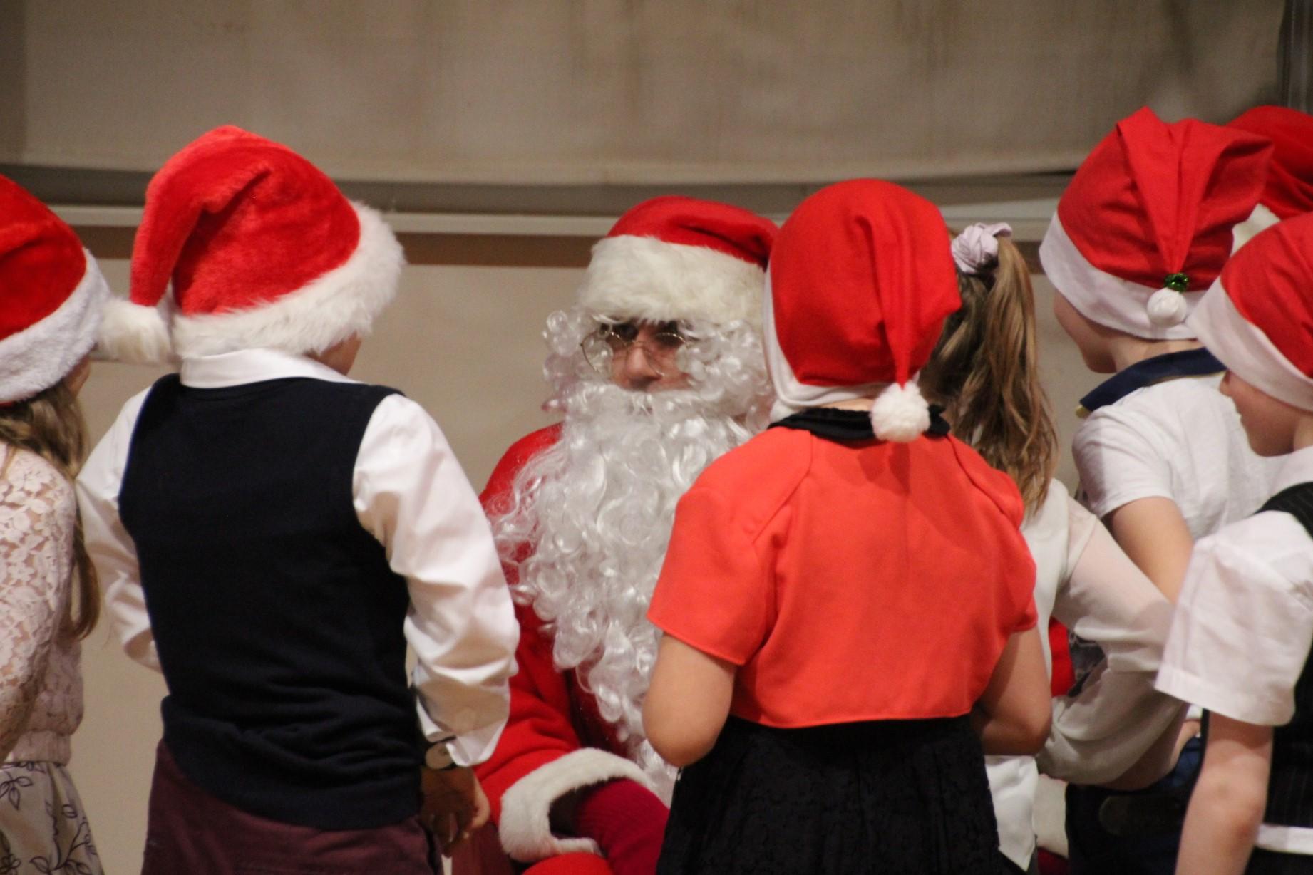 1.-6. klassi jõulupidu